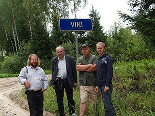 Vikipedistid Viki külas